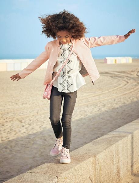 Menina 2-14 anos-Looks de menina-Look menina em tons de rosa