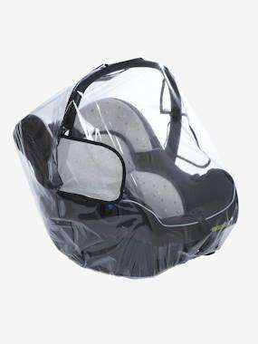 Capa para proteção da chuva para cadeira-auto grupo 0+ transparente