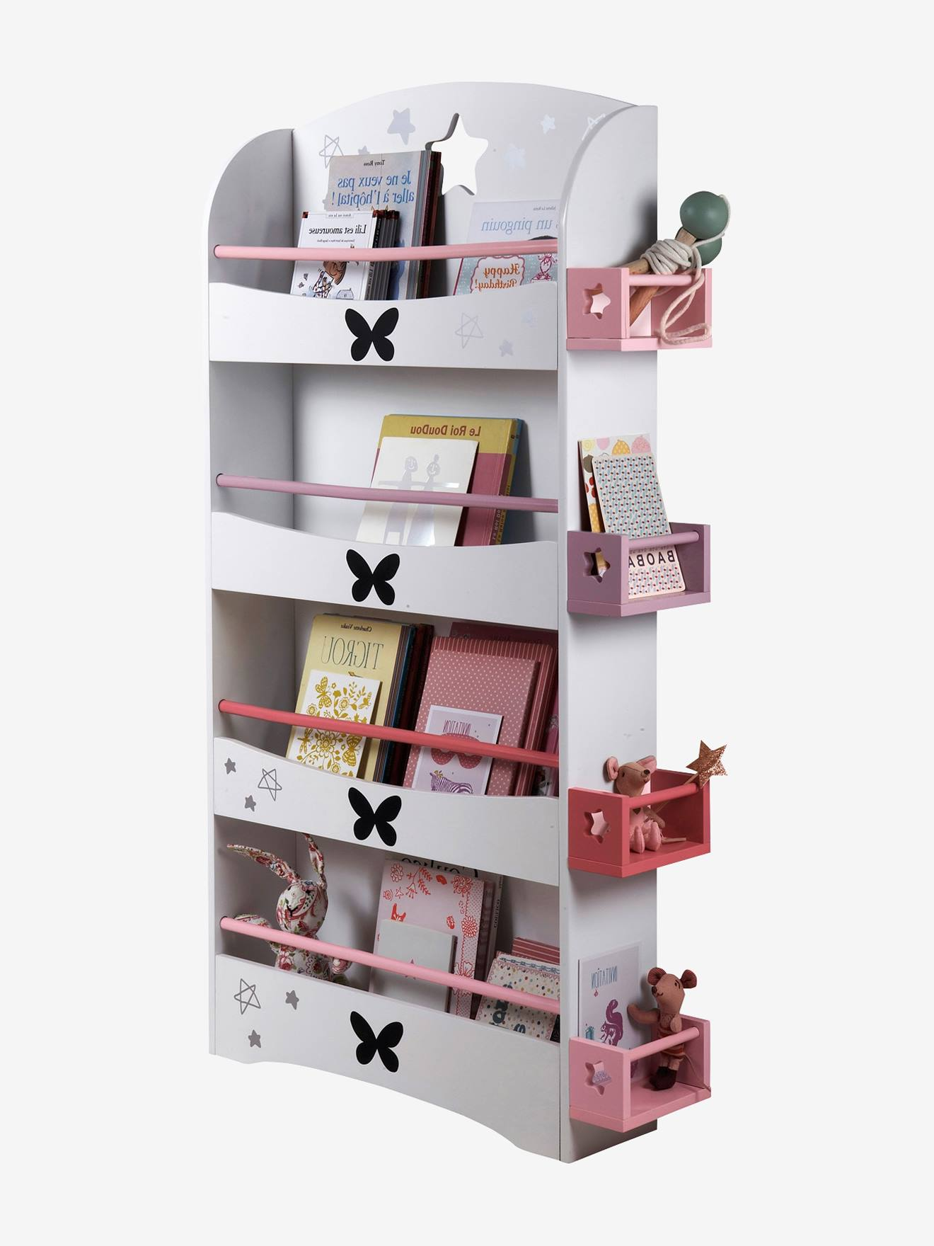 estante biblioteca miss butterfly arruma o e decora o. Black Bedroom Furniture Sets. Home Design Ideas