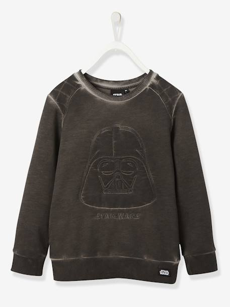 Novidades-Sweat-shirt com Darth Vader bordado, de menino, Star Wars®