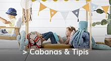 Cabanas & Tipis