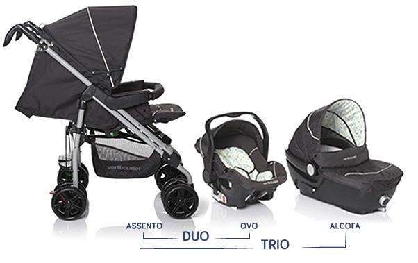 Visual carrinho Duo ou Trio