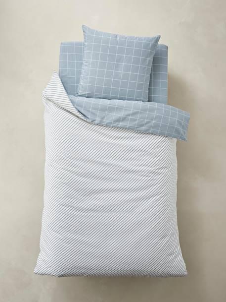 2d8f11d0d60275 Conjunto capa de edredon + fronha de almofada para criança, tema  Carreaux-Têxtil-lar e Decoração-Vertbaudet | vertbaudet.pt