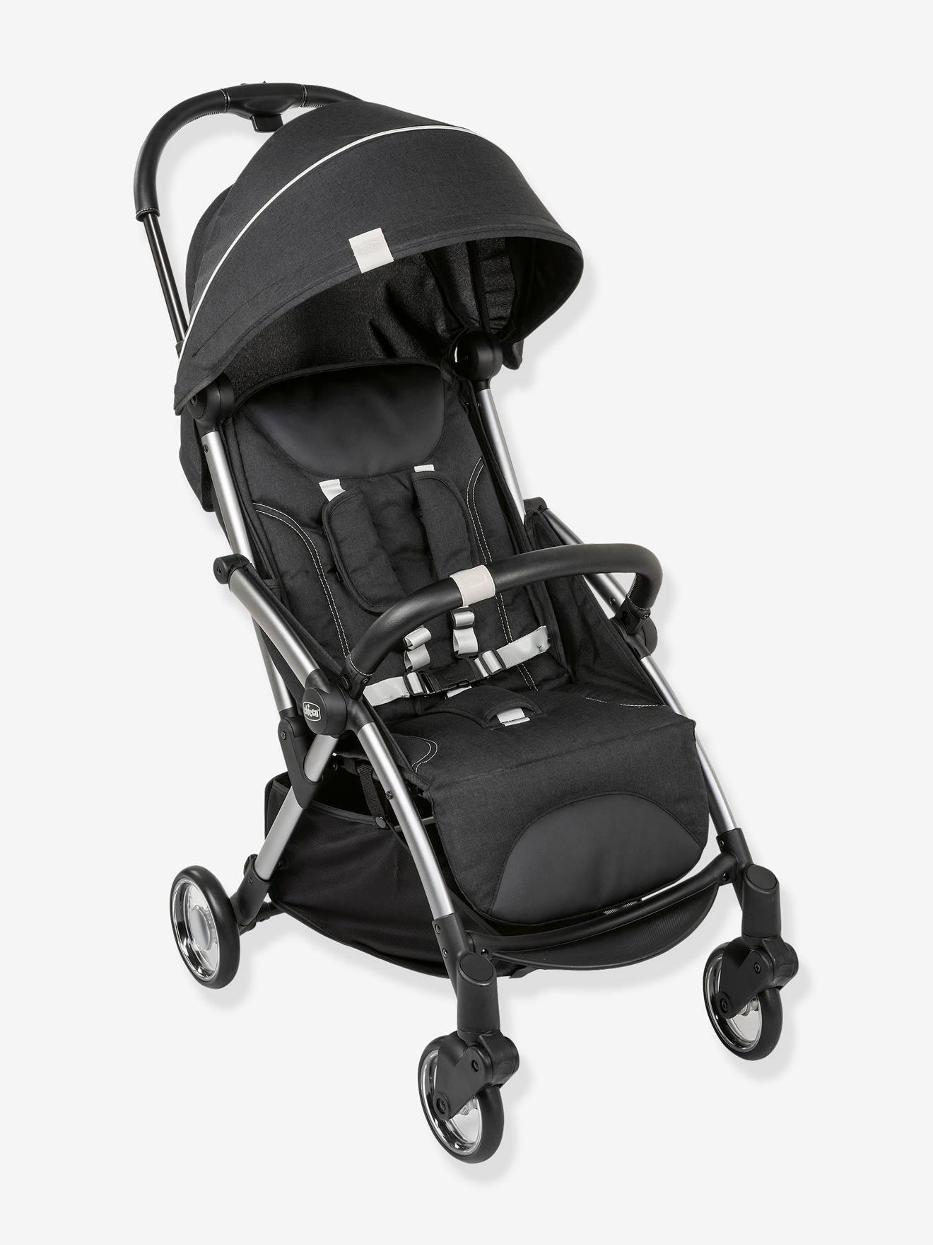 Carrinho de bebé Goody CHICCO cinzento escuro liso