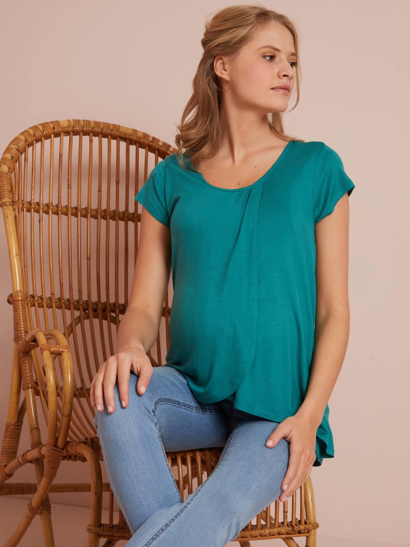 MAMA T shirt de amamentação