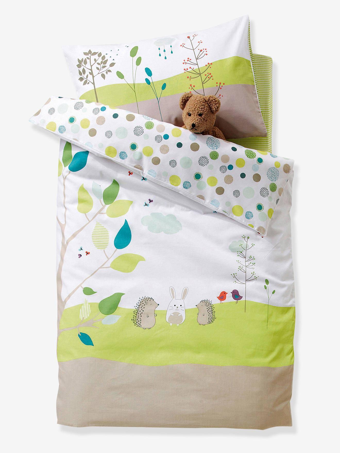 8228b5b415b84 Fronha de almofada Pic-nic, para bebé-Móveis e Têxtil-Lar-Vertbaudet    vertbaudet.pt