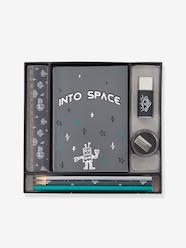 Conjunto de papelaria, Into space