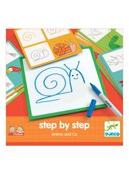 Step by step Animais, da DJECO