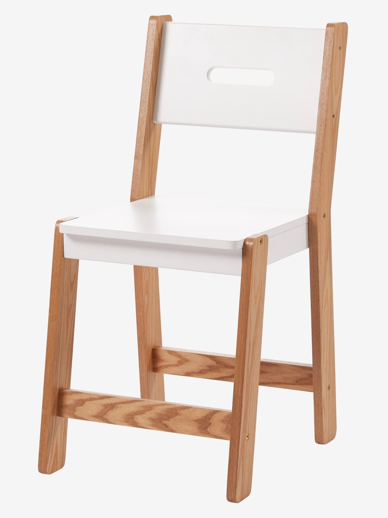 Cadeira especial primária, altura 45 cm, linha Architekt branco claro bicolor/multicolo