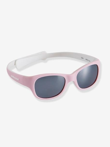 042b2dc0b Óculos de sol para bebé AZUL MEDIO LISO+Cinza-pálido+ROSA MEDIO LISO