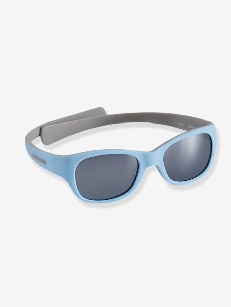 451c019d9 Óculos de sol para bebé AZUL MEDIO LISO+Cinza-pálido+ROSA MEDIO LISO
