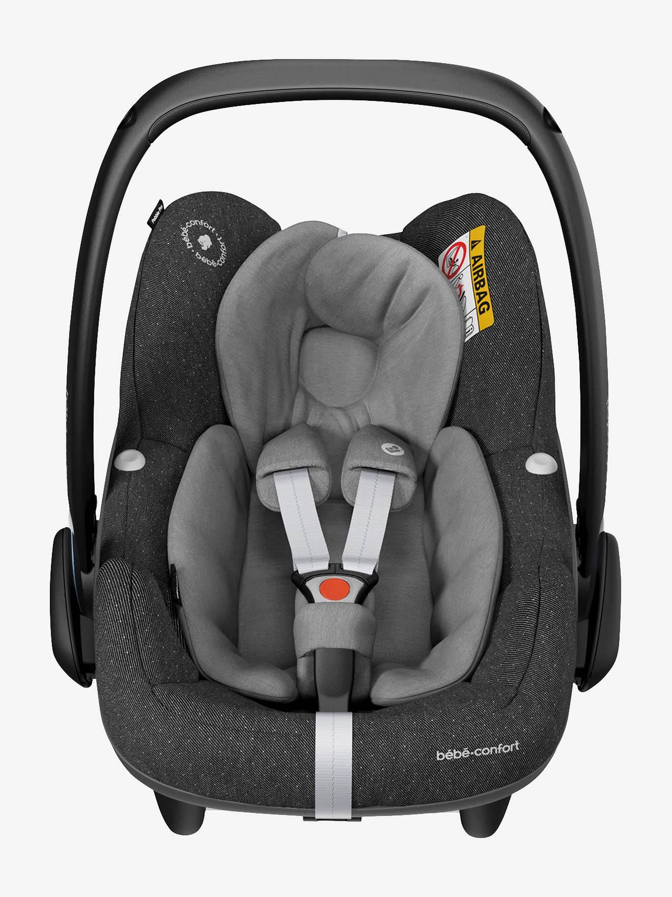 Cadeira-auto Cosi Pebble Pro i-Size, BEBE CONFORT cinzento medio liso