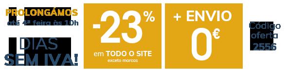 Dias sem iva -23% em TODO o site + Envio 0€