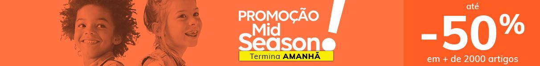 Promoção Mid-season até -50%