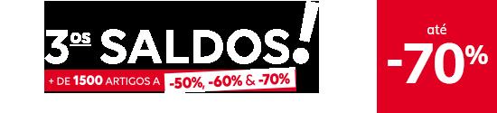 3os SALDOS! até -70%